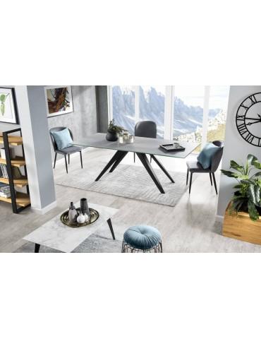 Prostokątny  Stół Julietta 160 blat spiek kwarcowy - Remo - Meble Empir