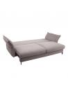 rozkładana Sofa CARMEN 3 osobowa z dużą funkcją spania i pojemnikiem - Befame - Meble Empir
