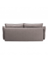 Tył sofy Carmen 3 osobowej z funkcją spania i pojemnikiem - Befame - Meble Empir