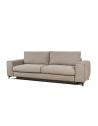 rozkładana Sofa DL MOON 3  osobowa z funkcją spania i pojemnikiem bok L - Befame - Meble Empir