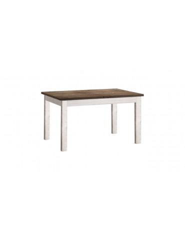 Finezyjny Stół 4N sosnowy rozkładany biały PROVANCE - Meble Krysiak_Empir_01