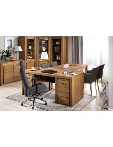 dębowe biurko Velvet 37 Szynaka Meble- Salon Meblowy Empir03