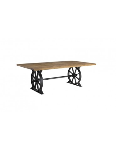 Unikatowy Stół Salvador blat lity dąb - Remo - Salon Meblowy Empir 01