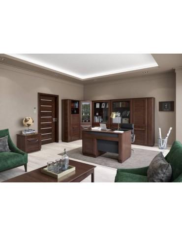 Biurko małe z półką Bari - Mebin - salon meblowy empir