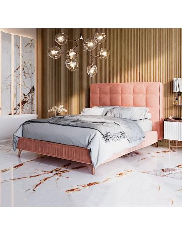 łóżko tapicerowane 160x200 Belavio - Befame - Meble Empir Łódź Reda