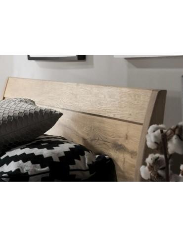 drewniane Łóżko Limon 160 z pojemnikiem LIM.096. - Meble Krysiak - Meble Empir