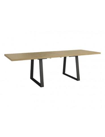 Olśniewający Stół Moka I 160 z wsadami dokładanymi - Mebin -Empir_01