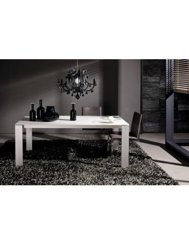 biały rozkładany Stół do jadalni  ET 1000 -  Hülsta - Meble empir