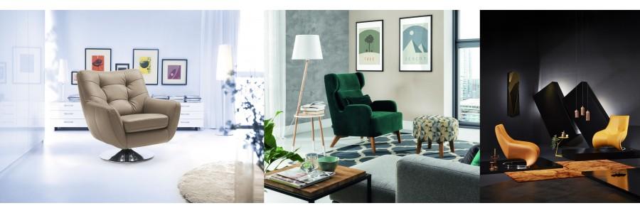 Fotele - Komfortowe meble do salonu - Salon Meblowy Empir
